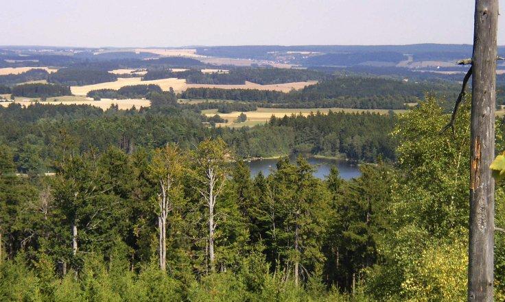 Míchova skála – srpen 2007